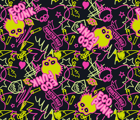 Venu Shirt Pattern  fabric by ani_bee on Spoonflower - custom fabric