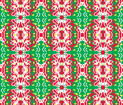 Matisse Christmas fabric by krussimages on Spoonflower - custom fabric