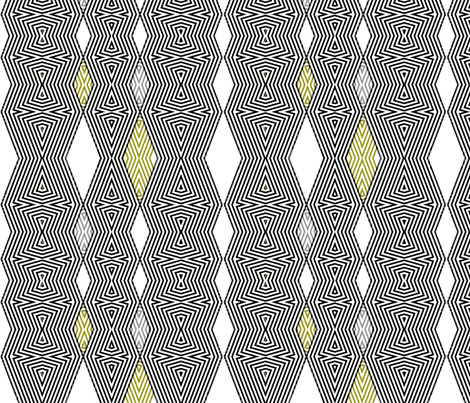 op art diamonds fabric by wren_leyland on Spoonflower - custom fabric