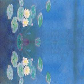 Monet: Nymphéas, effet du soir Painting