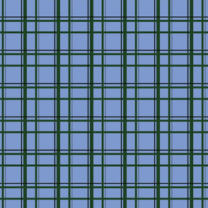 Blue U.P. Plaid