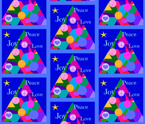 Holiday Wishes - napkins fabric by painter13 on Spoonflower - custom fabric