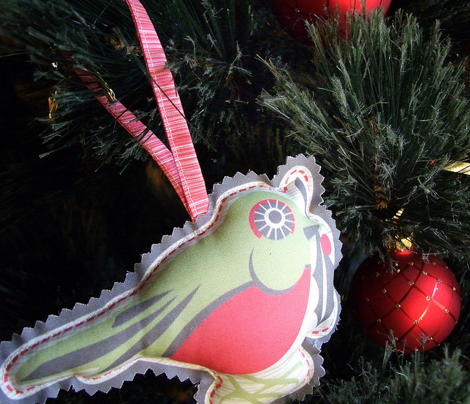Evergreen Christmas Party Ornaments