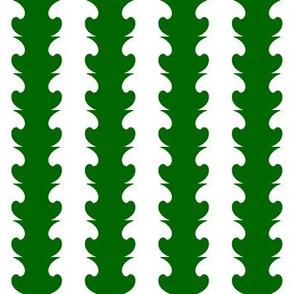 The Mushroom in the Mirror  v3  -Green & White