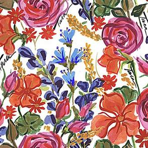 Garden Victorian Rose