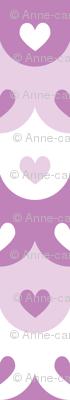 Hearts scallops (purple)