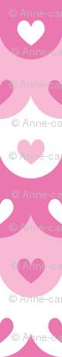 Hearts scallops (pink)