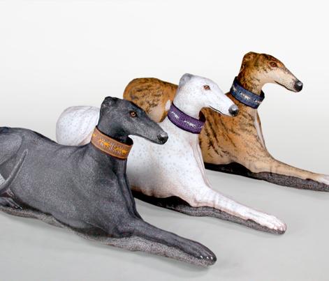 Greyhound Pillow Kit - Black Female