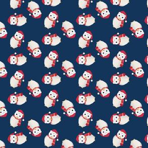 Santa Owls