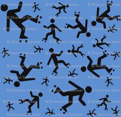 Crusin' on Quad-Skates (BLUE)
