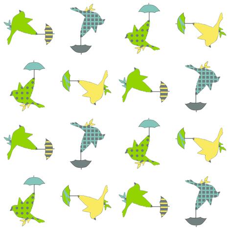 rainybirds fabric by golders on Spoonflower - custom fabric