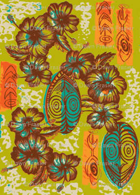 Honiara Hibiscus, late summer