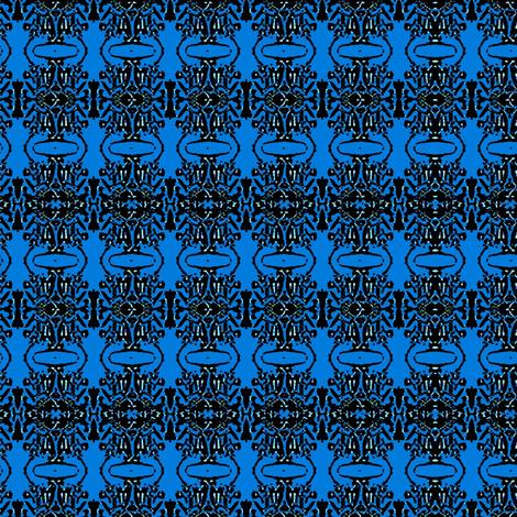 blue water fabric by dk_designs on Spoonflower - custom fabric