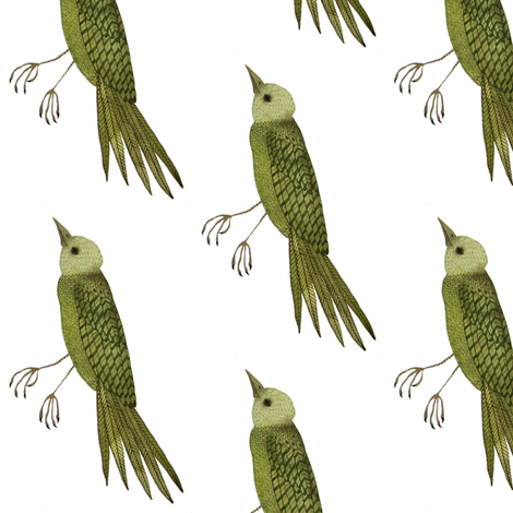 Songbird West - Woodland Collection fabric by gollybard on Spoonflower - custom fabric