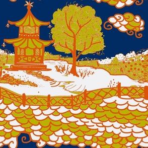 Cloud_Pagoda-acid/navy orange