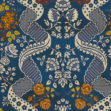 Rococo VA 1a fabric by muhlenkott on Spoonflower - custom fabric