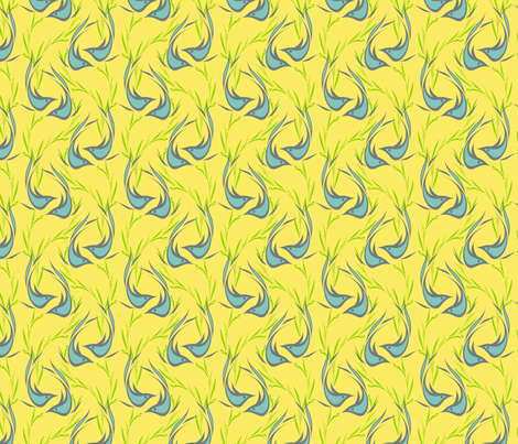 Winged Waltz fabric by joanmclemore on Spoonflower - custom fabric