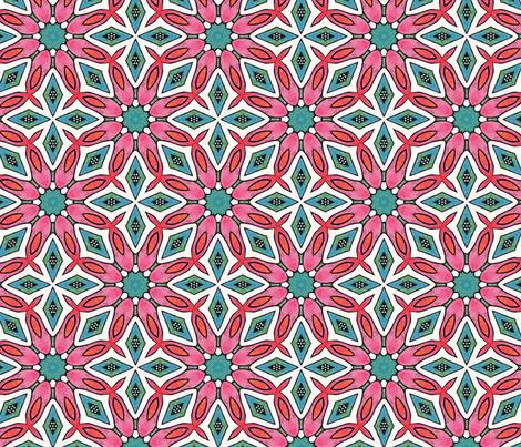 Seventies chic fabric by lisa_cat on Spoonflower - custom fabric