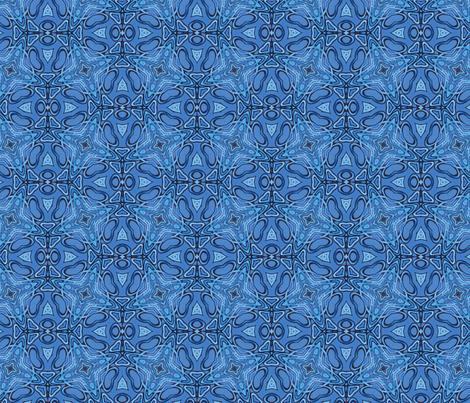 Tru blu too tru fabric by lisa_cat on Spoonflower - custom fabric