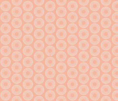Mod Pink Circles fabric by brainsarepretty on Spoonflower - custom fabric