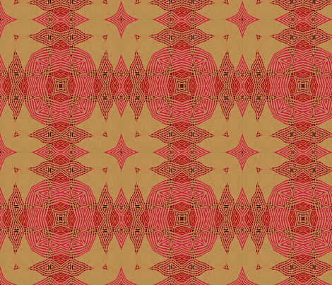 Ikat Fuschia - Festive fabric by wren_leyland on Spoonflower - custom fabric