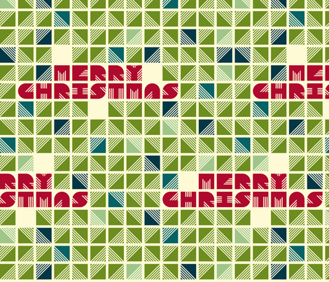 Festive Gift Wrap fabric by candyjoyce on Spoonflower - custom fabric