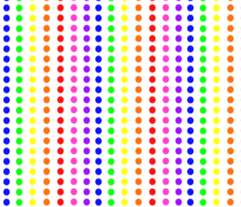 RainbowCandy fabric by stickelberry on Spoonflower - custom fabric