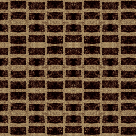Old French Grain Sack - tobacco brown fabric by materialsgirl on Spoonflower - custom fabric