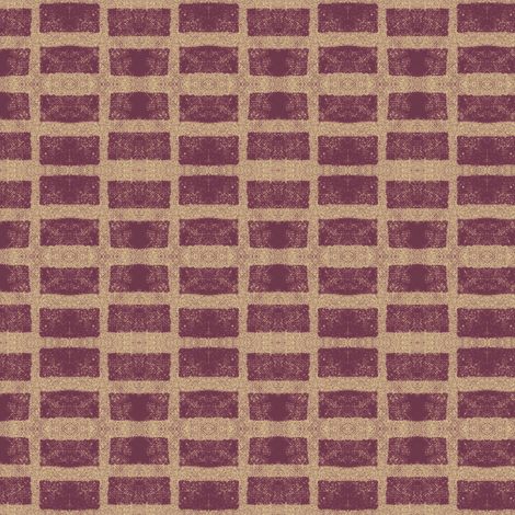 Old French Grain Sack - plum fabric by materialsgirl on Spoonflower - custom fabric