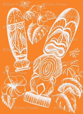 Tiki Holiday-orange