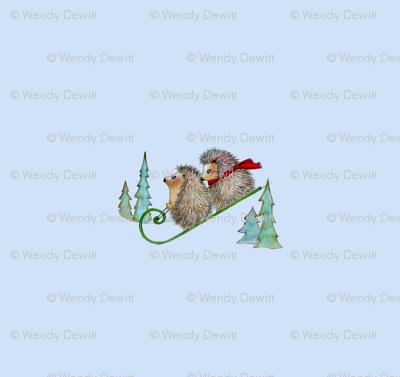Hedgehog Sled