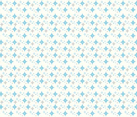 Ornamental Stars fabric by sugarxvice on Spoonflower - custom fabric