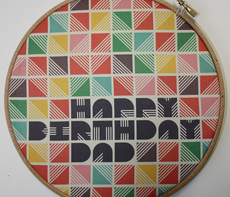 Primary Colours Gift Wrap