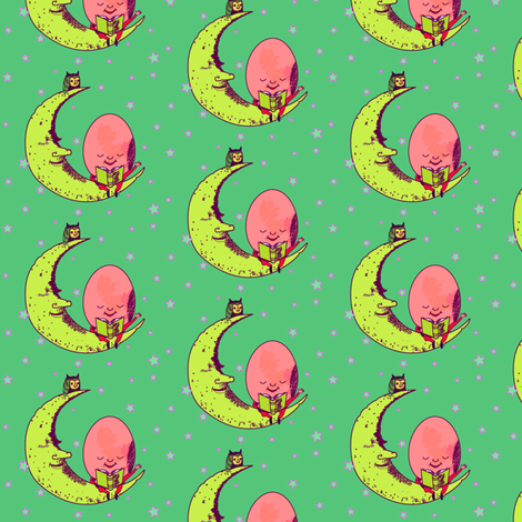 Humpty Dumpty fabric by gurumania on Spoonflower - custom fabric