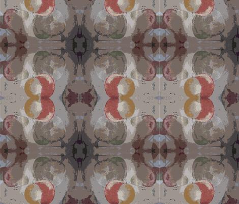 Fruit Abstract 2 fabric by kapsattic on Spoonflower - custom fabric
