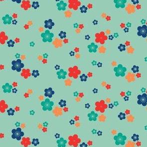 spring blossom in jade
