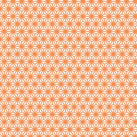 asanoha mini in topaz fabric by chantae on Spoonflower - custom fabric