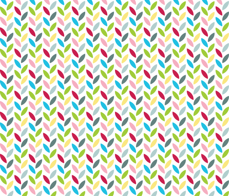 Party Leaves fabric by m0dm0m on Spoonflower - custom fabric