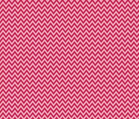 Bubblegum Chevron fabric by m0dm0m on Spoonflower - custom fabric