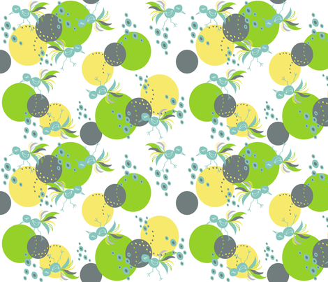 bird of some kind fabric by lene_bomholt on Spoonflower - custom fabric