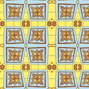 Yellow Panama Tile-ed-ch-ch