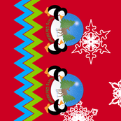 Penguins and Snow Globe