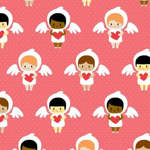 Kawaii angels (red)