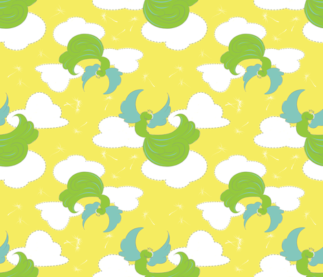 flights_of_fancy_pattern fabric by monettestudio on Spoonflower - custom fabric