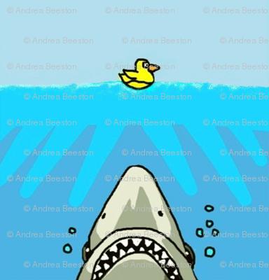 shark versus duck