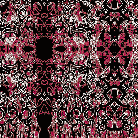 red cloth fabric by dk_designs on Spoonflower - custom fabric