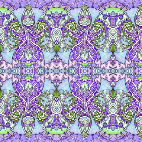 Morning Gloria fabric by edsel2084 on Spoonflower - custom fabric