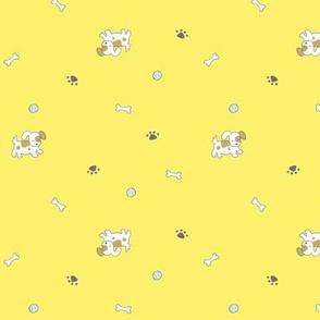 22 Puppies_Yellow
