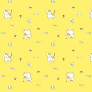 18 Kitties_ Yellow