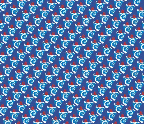 Nautilus (Under the sea) fabric by kirpa on Spoonflower - custom fabric